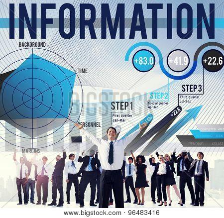 Information Data Global Communication Media Concept