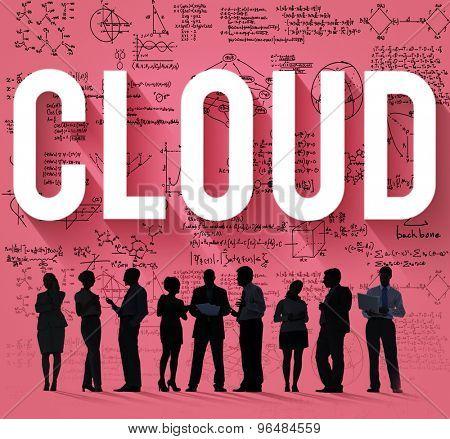 Cloud Computing Data Storage Sharing Concept