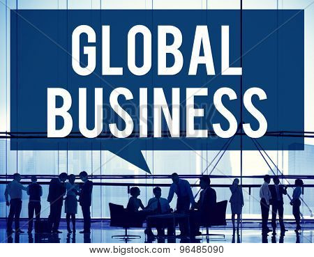 Global Business Marketing Globalization Commerce Concept