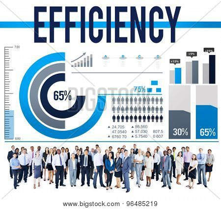 Efficiency Excellence Ability Accomplishment Success Concept
