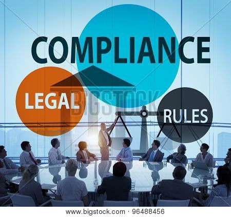 Compliance Legal Rule Compliance Conformity Concept