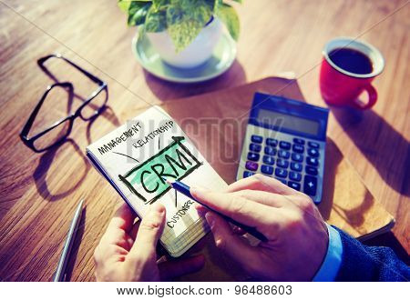 Business Customer Management Analysis Service Concept