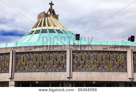 New Basilica Shrine Of Guadalupe  Mexico City Mexico