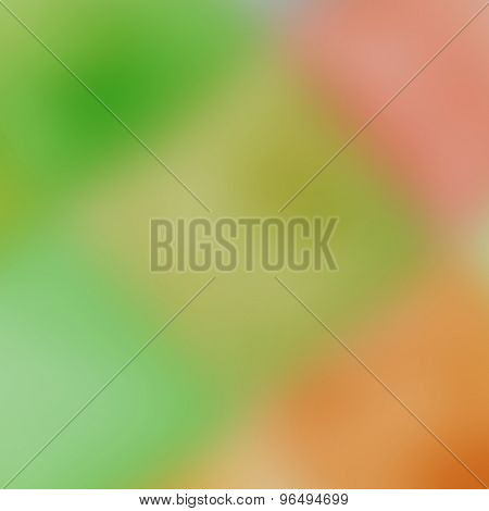 Green Blurred Background - Abstract Background Design