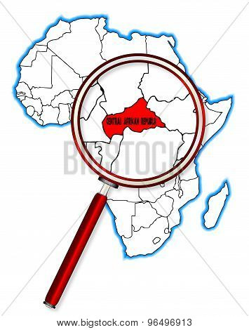 Central African Republic Under A Magnifying Glass