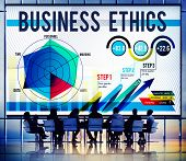 picture of moral  - Business Ethics Integrity Moral Responsibiliy Honest Concept - JPG