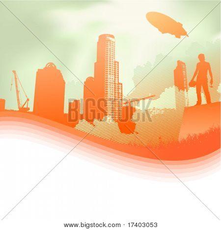 construção e trabalhador
