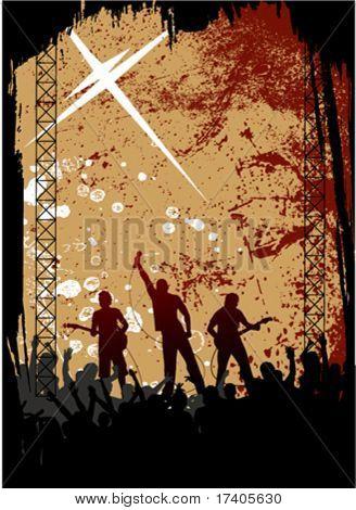 concerto de rock