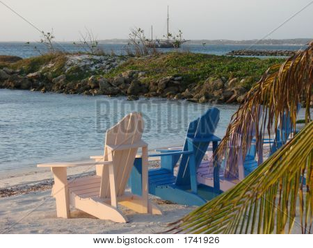 Adirondeck Chairs In Aruba