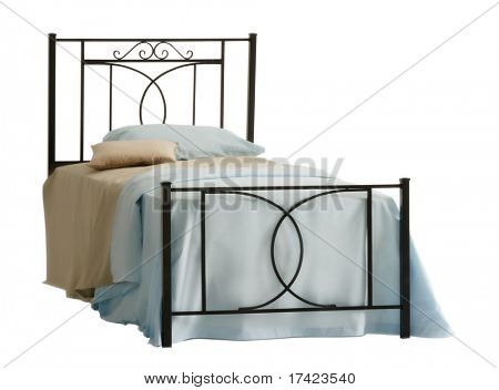 isolated bed