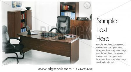 office life background