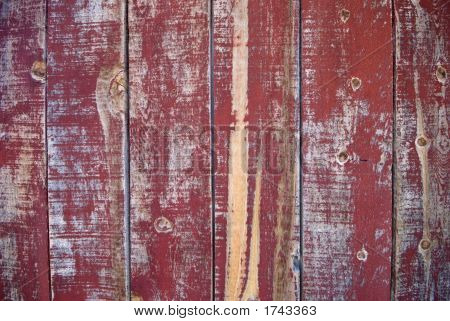 Peeling Red Paint - Wild West Background