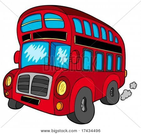 Doubledecker bus - vector illustration.