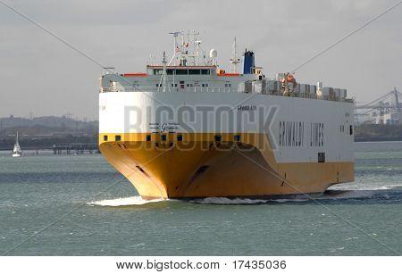 Italian Cargo Ship Grande Roma