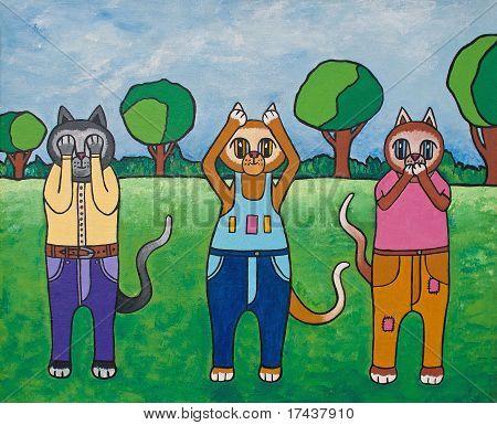 cats of wisdom