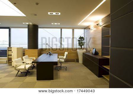 interior of a modern office