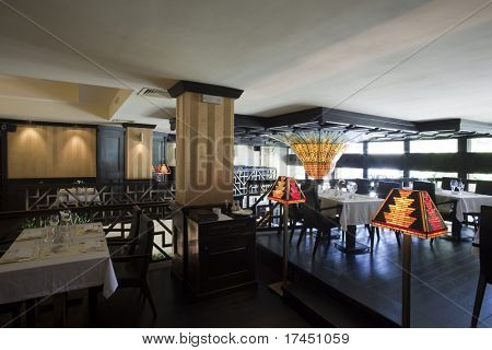 BELGRADE - MAY 15: New restaurant