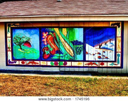 Farmers Market Mural