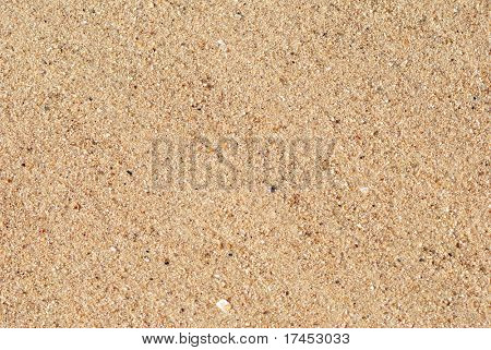 Background from sand