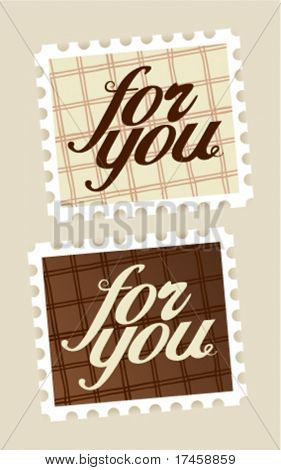 For you postage stamps set.