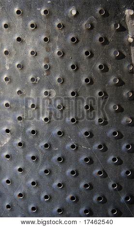 Punctured Metal Raised Texture