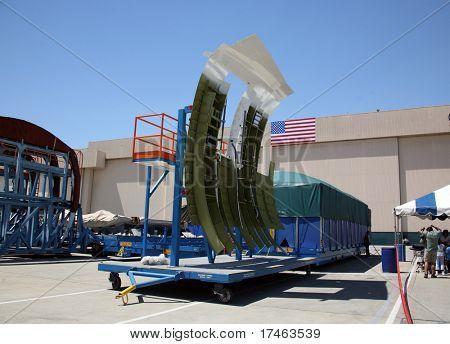 Shipping Area of Aerospace Plant Facility