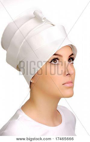 Beautiful sensual attractive white woman