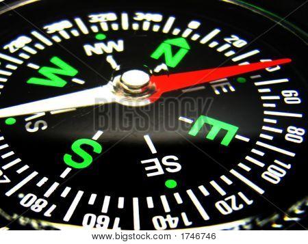 Kompass closeup