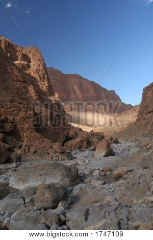 Todra Gorge Valley In Morocco
