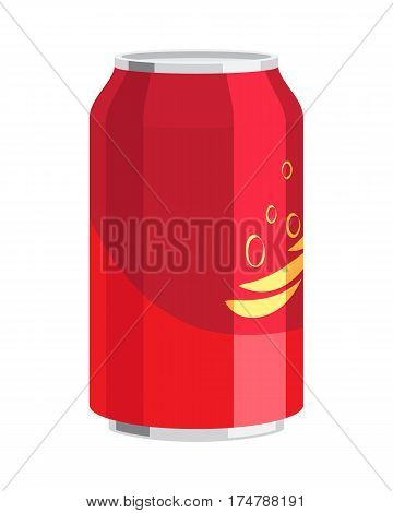 Steel can of