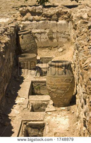 Antique Clay Jars
