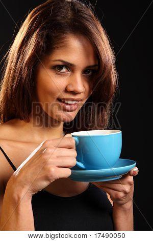 Erfrischende Tasse Tee