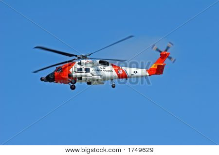 Us Coast Guard Hh60J Jayhawk Helicopter