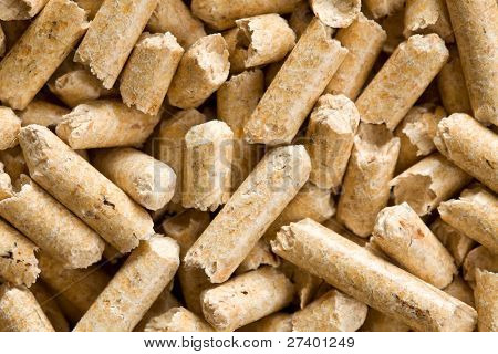 the wooden pellet .ecological heating
