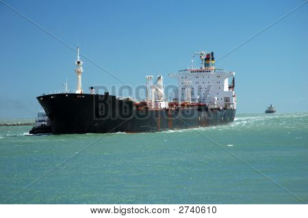 Tanker In The Channel