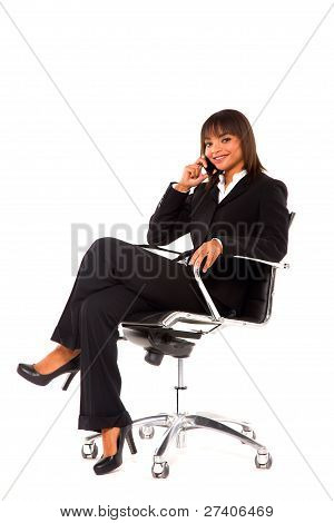 Businesswoman With Mobile