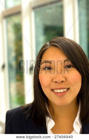 Asian Businesswoman In Office