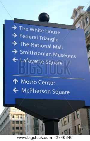 Washington Dc Sign
