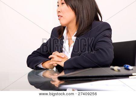 Asian Businesswoman In Office