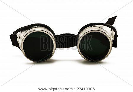 Shiny Metallic Protective Eyewear Glasses