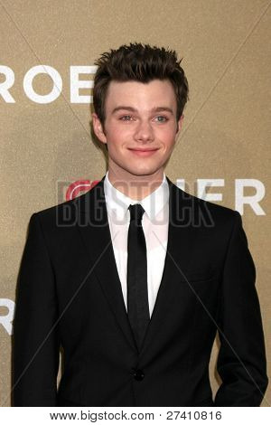 LOS ANGELES - DEC 11: Chris Colfer arrives at the 2011 CNN Heroes Awards at Shrine Auditorium on December 11, 2011 in Los Angeles, CA