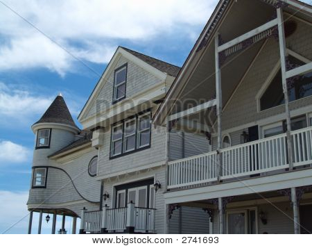 Seaside Victorian Homes, Ocean Grove, Nj