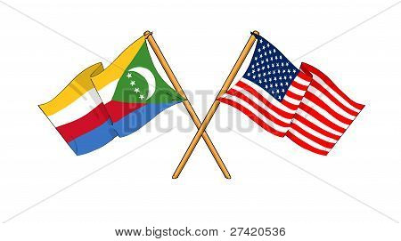 America And Comoros Alliance And Friendship
