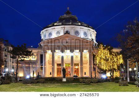 Ateneo Rumano, Rumanía
