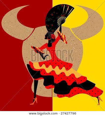 spanischer flamenco