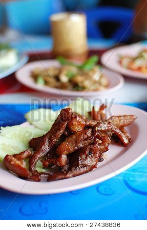 Thai Style Grilled Pork
