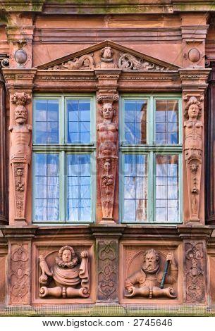 Haus Zum Ritter Window, Heidelberg, Germany