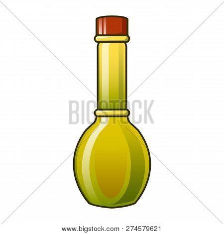 Virgin Olive Oil Bottle Icon