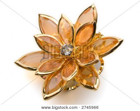 Flower Broach