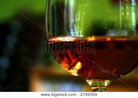 Glas Of Wine